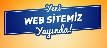 Yeni Web Sitemiz Yayına Girdi